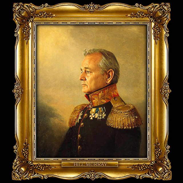 bill murray replaceface print